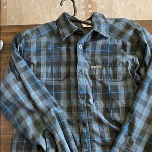 Columbia Plaid Shirt -Layered Medium
